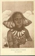 Nuova Guinea Olandese Vrouw Van Senajol Tipi Kaia Kaia Um 1920 - Papua-Neuguinea