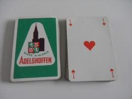 jeu de 32 cartes � jouer - ADELSHOFFEN - BIERE D'ALSACE - brasseries