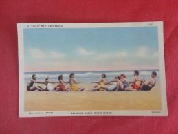 Rhode Island> Tug of War on Matunuck Beach  ref 1575