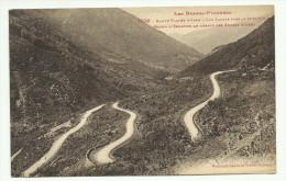 Carte Postale  Les Lacets Vers Le Somport - Col Du Somport
