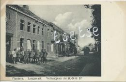 Langemark - Verbandpaltz Der R.-S.-K.52 - Duitse Soldaten  - Duitse Postkaart ( Verso Zien ) - Langemark-Poelkapelle