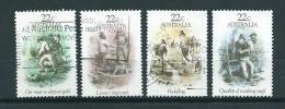 1981 Australia Complete Set Goldrush Used/gebruikt/oblitere - 1980-89 Elizabeth II