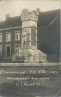 Mortier -  Innauguration Du Monument , Le 7 Août 1921  Carte Photo ( Voir Verso ) - Blégny