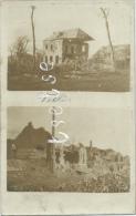 Tellin - Maison Détruites - Carte Photo 2 Vues - 1916 ( Voir Verso ) - Tellin