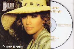 CD Single - JENNIFER LOPEZ - I'm Gonna Be Alright - Disco, Pop