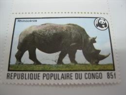 Congo-WWF-1978-Rhino - Ohne Zuordnung