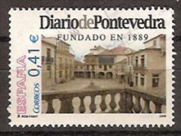 España U 4230 (o) Diario De Pontevedra. 2006 - 2001-10 Usados