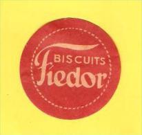 Old Labels, Promotional Labels Or Similar - Fiedor Biscuits - Altri