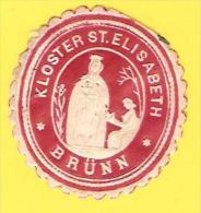Old Labels, Promotional Labels Or Similar - Kloster St. Elisabeth, Brunn - Other Collections