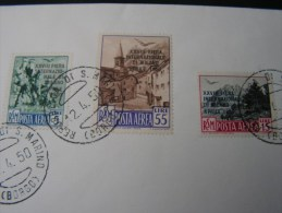 == San Marino FDC 1950 - FDC