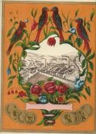 Chromo Etiquette/ Non Personnalisée/Produit D'Hygiéne/Perroquets Et Usine/GB?/ Vers 1890-1900         PARF66 - Etiquettes