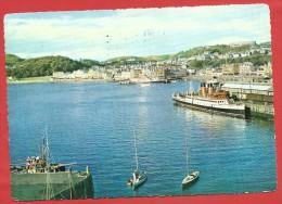 CARTOLINA VG REGNO UNITO - OBAN - SCOTLAND - Panorama - Porto - Traghetto - Piroscafo - 10 X 15 - ANNULLO 1968 - Argyllshire