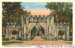 CPA Milledgeville - Entrance To G.M.C. - Etats-Unis