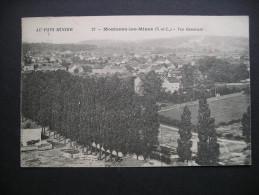 Au Pays Minier Montceau-les-Mines(S.-et-L.)-Vue Generale 1929 - Bourgogne