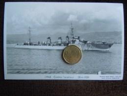 Bateaux Marine Militaire , Navire De Guerre , Marius Bar Phot. , Contre-Torpilleur , LYNX , 1939 - Guerra