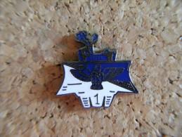 Beau Pin´s Militaria 15éme RGA,Régiment Du Génie,1ére Cie (dite De Chantier) à TOUL,EGF. - Army
