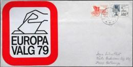 Denmark 1979 Letter HELLERUP 7-6-1979  Minr. 686-87 EUROPA  ( Lot 2882 ) - Dänemark