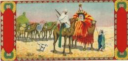 Chromo Etiquette/ Non Personnalisée/Produit D´Hygiéne/Caravane Reine De Saba/GB?/ Vers 1890-1900         PARF71 - Etiquettes