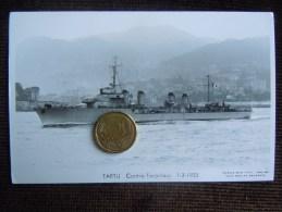 Bateaux Marine Militaire , Navire De Guerre , Marius Bar Phot. , Contre-Torpilleur , TARTU , 1933 - Guerre