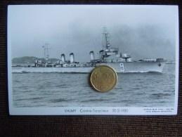 Bateaux Marine Militaire , Navire De Guerre , Marius Bar Phot. , Contre-Torpilleur , VALMY  , 1930 - Guerra