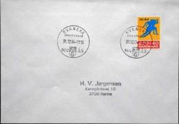 Denmark1984   Last Day Stamp   Minr.801  Svaneke Christiansø 31-12-1984 300 år   (lot 3568 ) - Covers & Documents