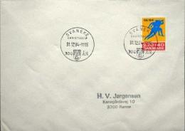 Denmark 1984   Last Day Stamp   Minr.801  Svaneke Christiansø 31-12-1984 300 år   (lot 3567 ) - Covers & Documents