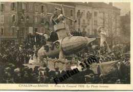 71 - CHALON SUR SAONE - FETES DE CARNAVAL 1938 - UN  CHAR - LE PIRATE INCONNU - - Chalon Sur Saone