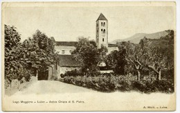 Luino (Varese). Antica Chiesa Di San Pietro. - Varese