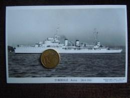 Bateaux Marime Militaire , Navire De Guerre , Marius Bar Phot. , Aviso , D ' IBERVILLE  , 1941 - Guerre