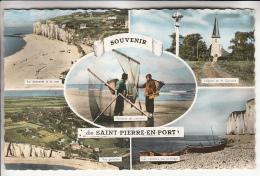 SAINT PIERRE EN PORT 76 - MultIvues - CPSM Dentelée Colorisée PF - Seine Maritime - Frankreich