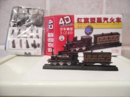 4D MODEL KIT TRENO TRAIN LOCOMOTIVA SCALA 1:240 NUOVO LOTTO 02 - Autres