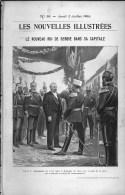 De 1903 - Article/photogravure - Le Nouveau Roi De Serbie Dans Sa Capitale - - Vieux Papiers