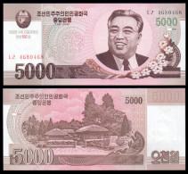 COREA KOREA 5000 WON COMMEMORATIVE 2012 (2014) PICK 75 NEW SC UNC - Korea, North