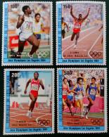 VAINQUEURS AUX JEUX OLYMPIQUES DE LOS ANGELES 1984 - NEUF S** - YT PA 90/93 - MI 838/41 - Côte D'Ivoire (1960-...)