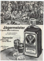 1974 - Jagermeister - 5 Pubblicità  Cm. 13,5 X 18,5 - Alcoolici
