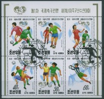 I186 SPORT VROUWEN VOETBAL WOMEN FOOTBALL SOCCER NORTH-KOREA 1991 Gebr / Used - Football