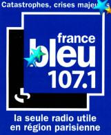 Autocollant France Bleu Paris - Autocollants