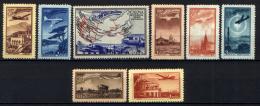 Russia 1949 Unif. A90/97 **/MNH VF/F - 1923-1991 URSS