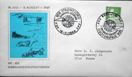 Greenland 1969 Greenland Expedition  SDR. Strømfjord FDF 18-7-1969 FPF   ( Lot 3586 )Scout Camp - Greenland