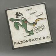 Razorback .boomerang Club Charleville - Pin's