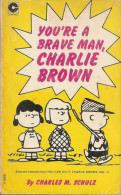 Charlie Brown-coronet Books Edition-vol.2-you're A Brave Man - Books, Magazines, Comics