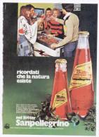 1974 - Bitter Sanpellegrino - 1 Pubblicità Cm. 13,5 X 18,5 - Alcoolici