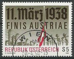 ÖSTERREICH 1988 MI-NR. 1914 O Used - ABO-Ware - (84) - 1981-90 Gebraucht