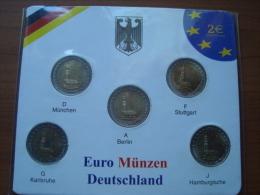 GERMANY  2006 2 X 5 - Uncirculated - Alemania
