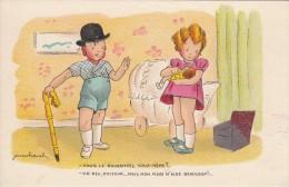 """Jean CHEVAL  """" Vous La Nourrissez Vous Même?  - Un Peu Docteur....mais Mon Mari  M'aide Beaucoup!..."""" - Cheval"""