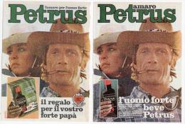 1974 - Amaro Petrus - 4 Pagine Pubblicità Cm. 13 X 18 - Alcoolici