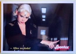 HUMOUR A LA CARTE / SPONTEX / LA S DE SPONTEX / -ALLEZ AU DODO ! - Advertising