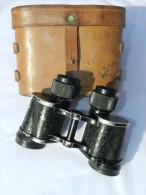 RARE  JUMELLES COMMANDOS MARINE  8 X 30  Modéle 1957 + étui Cuir  #.5 - Optics