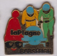 Bobsleigh , La Plagne , JO Albertville ?? - Pin's & Anstecknadeln