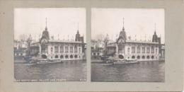Photo Stéréoscopique N° 27 Paris Exposition Universelle De 1900 Palais Des Forêts ( SIP ) Au Dos Teulet Besançon - Stereoscopic